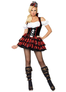 Seductive Pirate Adult Woman Costume