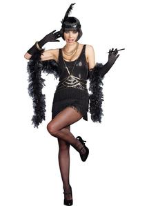 Sequin Flapper Adult Costume