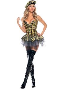 Sexy Commando Adult Costume