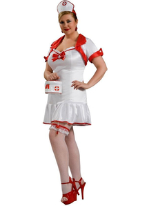 Sexy Nurse Adult Costume Plus Size