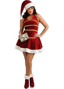 Sexy Santa Plus Size Costume