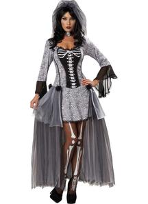 Skeleton Bride Adult Costume - 12869