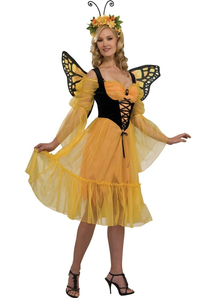 Springy Butterfly Adult Costume
