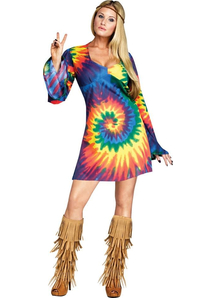 Sunshine Hippie Adult Costume