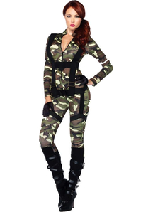Sweet Paratrooper Adult Costume