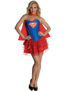 Sweet Supergirl Adult Costume