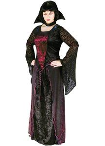 Vampiress Adult Plus Size Costume