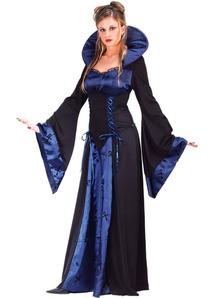 Vampiress Blue Adult Costume