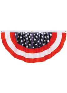 American Stars Stripes Bunting. Holiday Decorations.