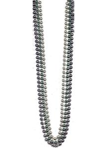 Beads 48In 10Mm Metalic 12Eq 1