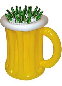 Beer Mug Cooler. Octoberfest Decorations.