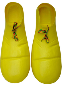 Clown Shoe Plastic Yellow