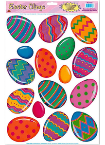 Colourful Eggs. Easter Decorations.