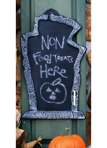 Creepy Chalk Board