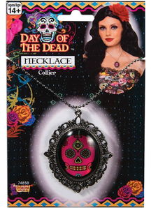 Day Of Dead Necklace