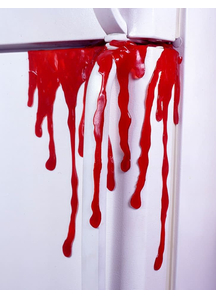 Drips Of Blood. Walls, Doors, Windows Decorations.