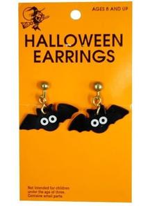 Earrings Bat