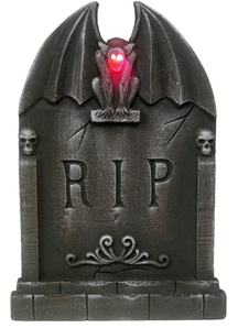 Gargoyle Lightup Tombstone