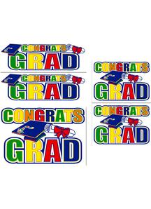 Graduation Auto-Clings.