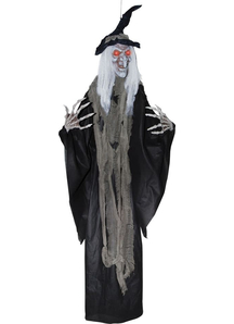 Hanging 6 Ft Witch. Halloween Props.