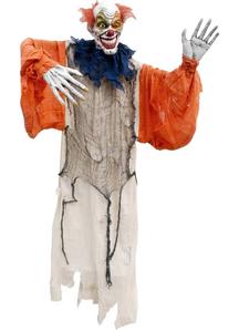 Hanging Creepy Clown.  Halloween Props.