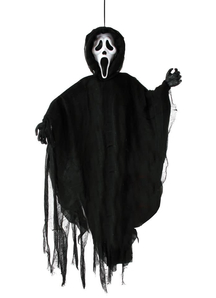 Hanging Ghost Face.  Halloween Props.