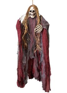 Hanging Hairy Reaper.  Halloween Props.