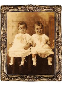 Holographic Twins Portrait 17X21