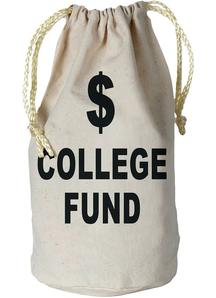Money Bag. Graduation Decorations.