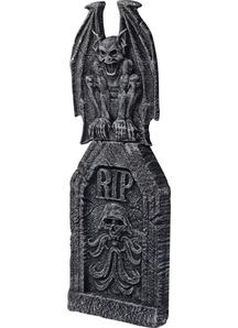 Ornate Gargoyle Tombstone