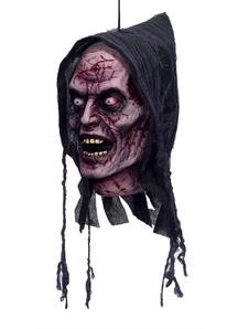 Poly Foam Ghost Head. Halloween Heads.