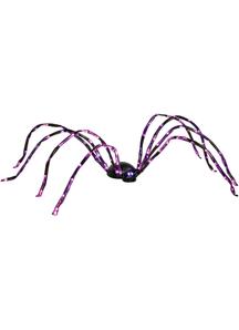 Purple Lighted Spider