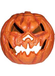 Rotting Pumpkin 17 In Tall. Halloween  Decoration.