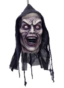 Screamer Head. Halloween Heads.