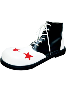 Shoe Clown B And W Men Lg