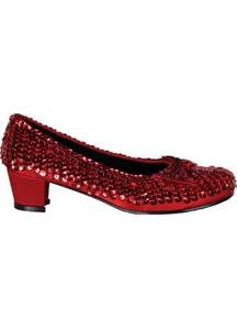 Shoe Sequin Rd Child Lg