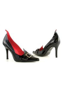 Shoe Witch Black Size 6