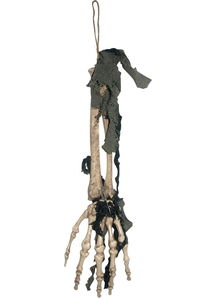 Skeleton Hands With Cloth