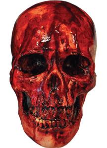 Skull Covered Blood