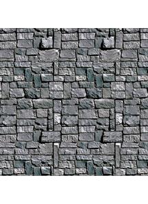Stone Wall Backdrop. Walls, Doors, Windows Halloween Decorations.