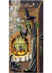 Witch'S Brew Door Cover. Walls, Doors, Windows Decoration.