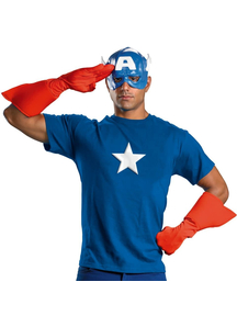 Captain America Kit Adult
