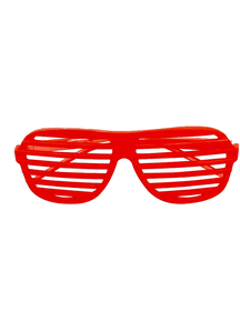 Glasses Slot Neon Orange
