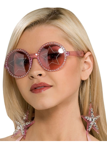 Glasses Stars Are Blind Pink