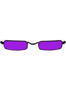 Glasses Vampire Black Purple