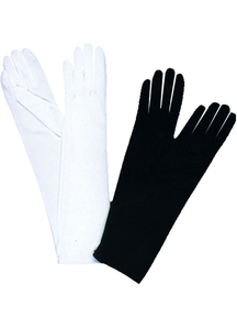 Gloves Elbow Lgh Black 1 Size