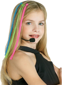 Headset Hairpiece Pop Diva