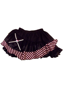 Mh Petticoat Red Black Stripe