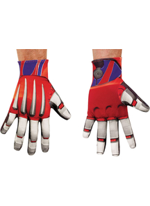 Optimus Prime Gloves Adult