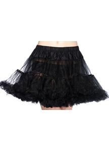 Petticoat Tulle Layerd Bk Plus
